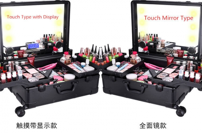ow-5847 Make-up Fall führte Touch Mirror Display