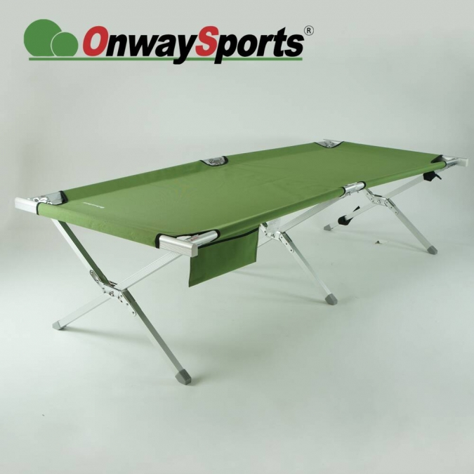 Aluminum folding bed